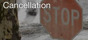 cancelation banner