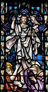 Easter Slider Image (resurrection stained glass)