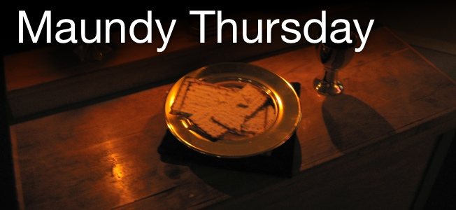 Maundy Thursday slider image
