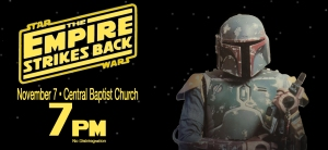 Empire Strikes Back, Nov 7 - 7PM